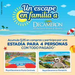 Un escape en familia a Decameron