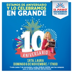 Aniversario El Paseo Shopping Sto. Domingo
