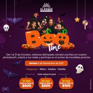 Boo Time! Halloween en El Paseo Shopping